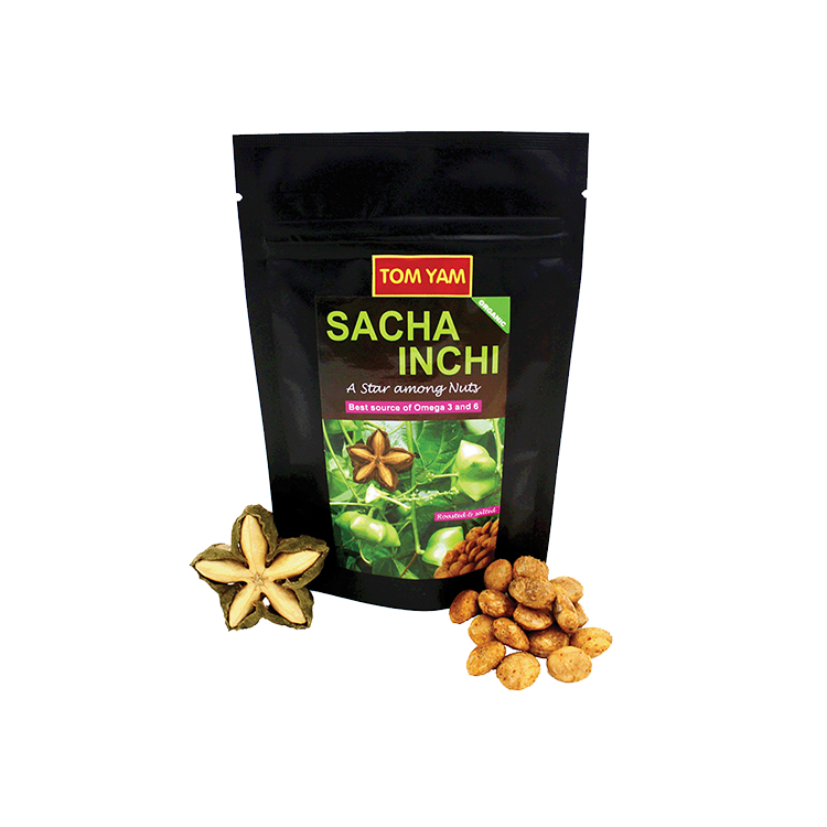Sacha Inchi roasted nuts Tom yam