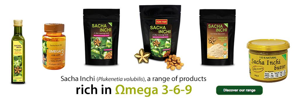Sacha Inchi range of products